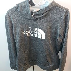 Women's North Face hoodie | large